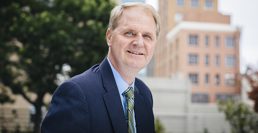 UC systemwide Executive Vice President and Chief Financial Officer Nathan Brostrom has been named interim chancellor of UC Merced.