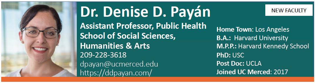 Dr. Denise Payan NCPC