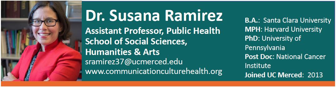 Dr. Susana Ramirez NCPC