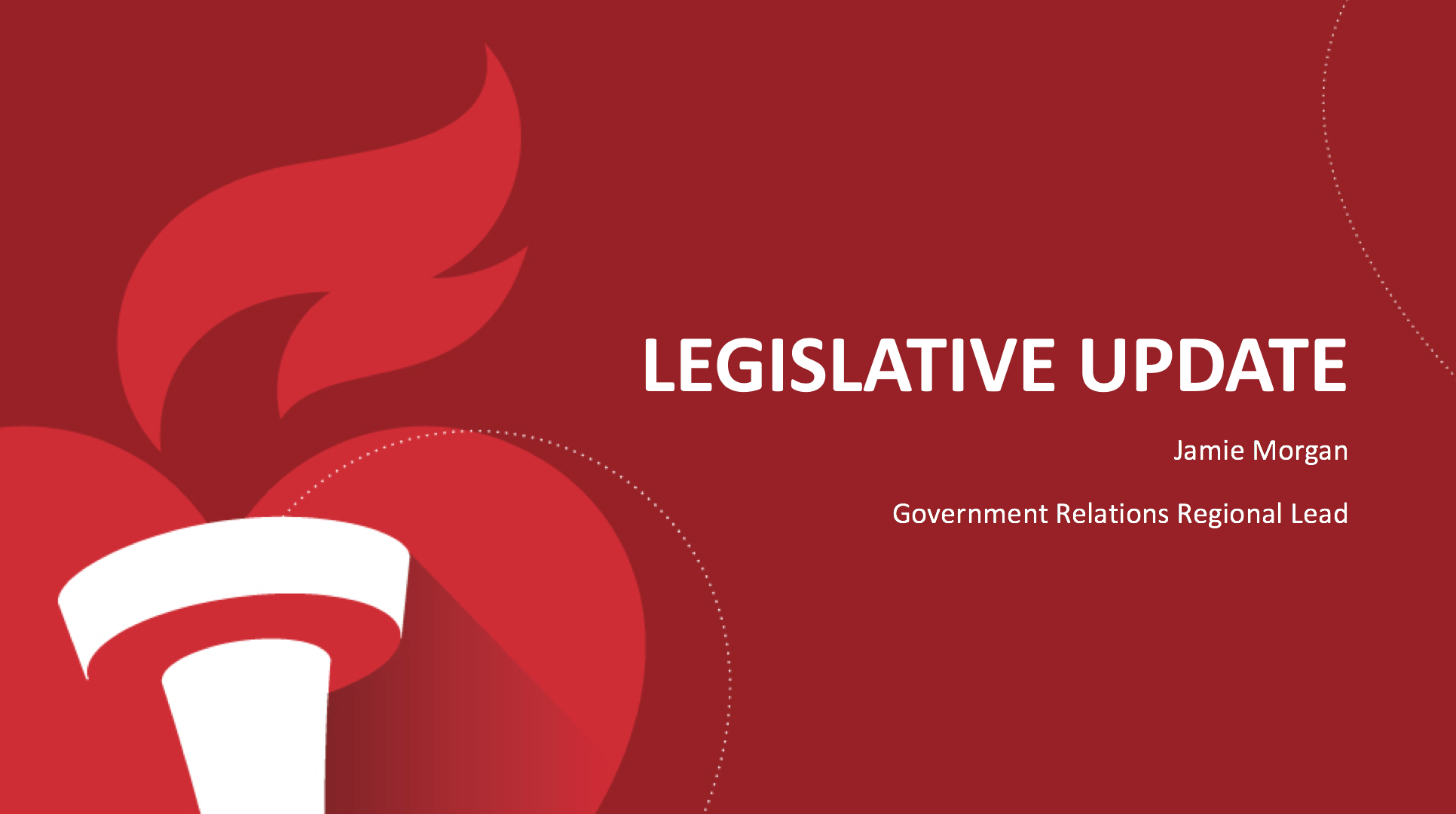 AHA Legislative Update - NCPC