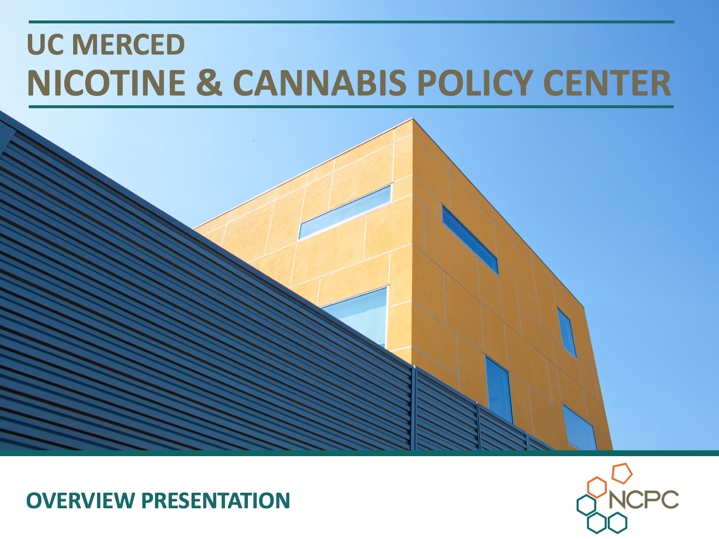 NCPC Overview Presentation