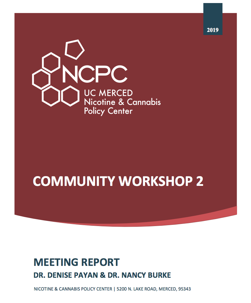 NCPC Community Workshop Report 2
