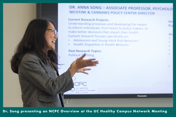 Dr Song NCPC UC Healthy Campus Network Presentation 2018